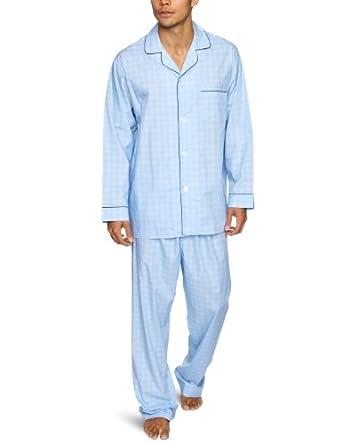 Brooks brothers pigiama uomo blu blue s for Amazon uomo