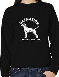 Dalmation Dog Lover Adult Unisex Sweatshirt Jumper Birthday Gift Idea Size S-XXL
