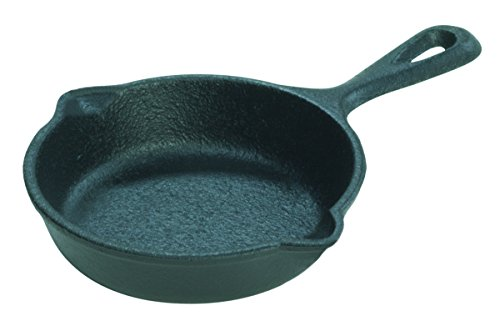 Lodge LMS3 Cast Iron Miniature Skillet, 3.5-inch (Single Egg Pan compare prices)