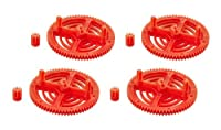 UltraFlight Orange High Performance Gears for the AR Drone 2.0 from UltraFlight