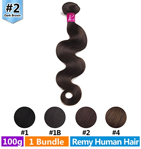 Rechoo Colored Human Hair Extension Remy Weave Sew In Bundle 100g - 22
