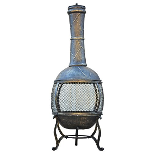 Gardeners-Select-Cast-Iron-Chiminea