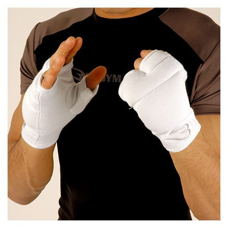 Body maker (BODYMAKER) super fist supporters (1 pair) SSKS8 white S
