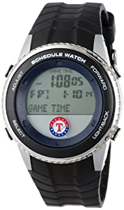 MLB Mens MLB-SW-TEX Schedule Series Texas Rangers Watch by Game Time