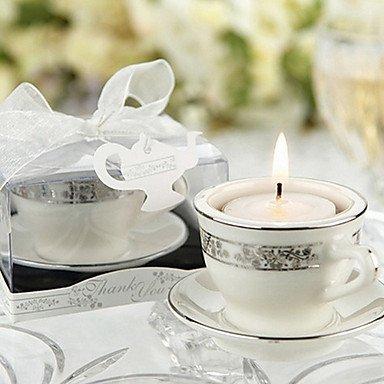 Zcl Teacups And Tea Lights Miniature Porcelain Tea Lights Holders