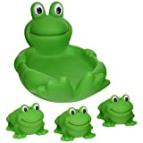 Elegant Baby Bath Toy Set - Frog