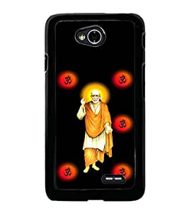 printtech Sri Sainath Sai Baba Back Case Cover for LG L70
