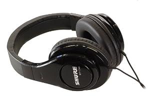 Shure SRH 240 - professioneller geschlossener Kopfhörer optimiert für den täglichen Musikgenuss und Homerecording