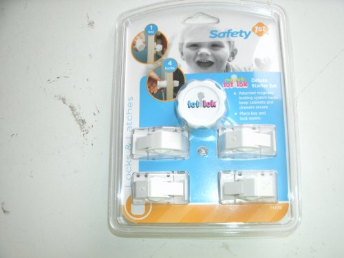 Safety 1st Tot-Lok Deluxe Starter Kit Item#55155 Model#71175