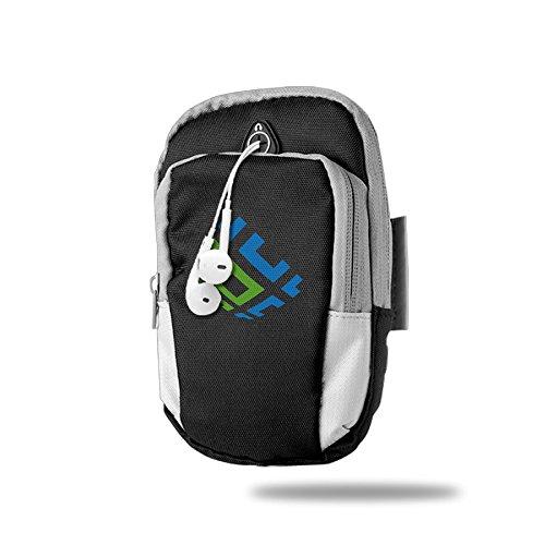 outdoor-arm-bag-brasil-telecom-logo-blue-green-black
