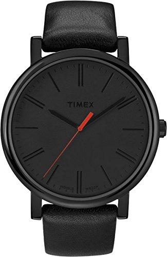 Timex Originals T2N794PF Orologio Analogico da Polso, Unisex, Pelle, Nero
