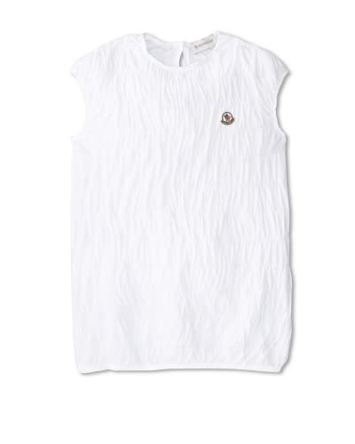 Moncler Kid's Cap Sleeve Tunic  [White]