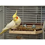 """Sitzbrett """"L"""" - ein tolles Vogelzubehör für den Vogelkäfig. Ersatz für Sitzstange"""