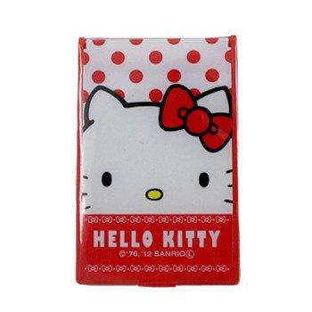 キティ コンパクトミラー Sサイズ レッド