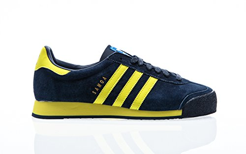 adidas Originals Samoa VNTG, collegiate navy/bright yellow/bluebird, 7