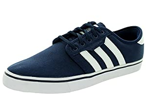 Adidas Men's Seeley Conavy/Ftwwht/Conavy Skate Shoe 5 Men US