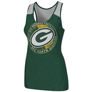 Green Bay Packers Ladies Play Time VI Tank Top by VF Imagewear