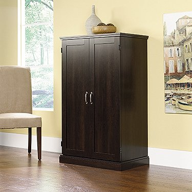 Classic Collection Computer Armoire in Cinnamon