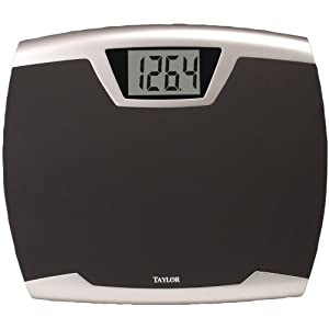 TAYLOR PRECISION 734040732 LITHIUM ELECTRONIC DIGITAL SCALE
