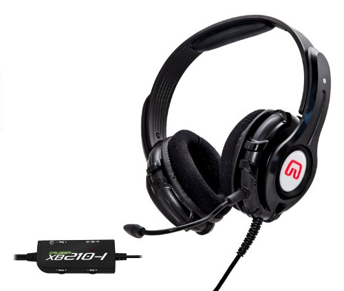 Syba Xb210-I Rumble Effect Gaming Headset With Detachable Microphone - Xbox 360