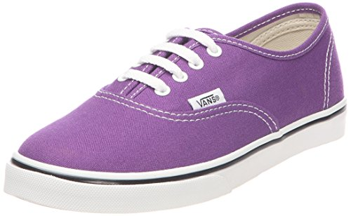 Vans Big Boys' Textile Authentic Lo Pro Trainers 34.5 EU Violet