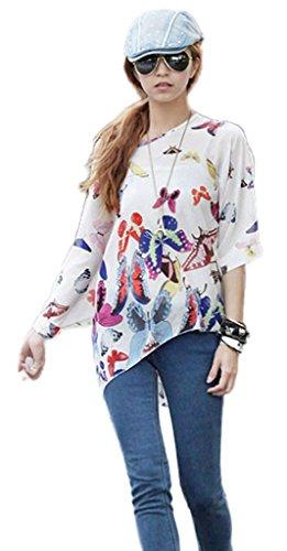 Camisa Top para Mujeres con Mariposas
