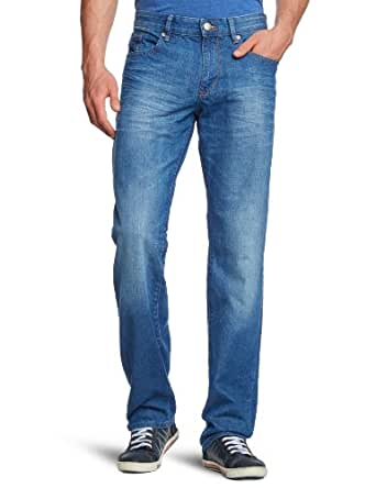 Mexx - Jean - Coupe Droite - Homme - Bleu (455) - FR : 30W (Taille fabricant : 30)