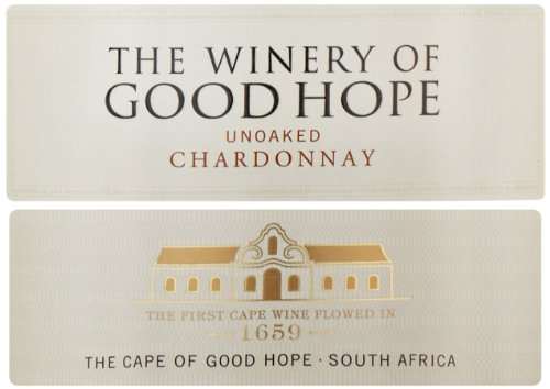 2012 Unoaked Chardonnay, The Winery Of Good Hope 750 Ml
