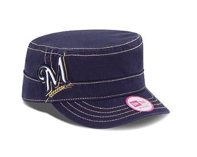 MLB Women's Chic Cadet Military Cap, One Size