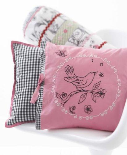 Nightingale Decorative Pillow front-555808