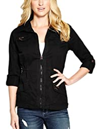 G by GUESS Women's Elsbeth Twill Jacket