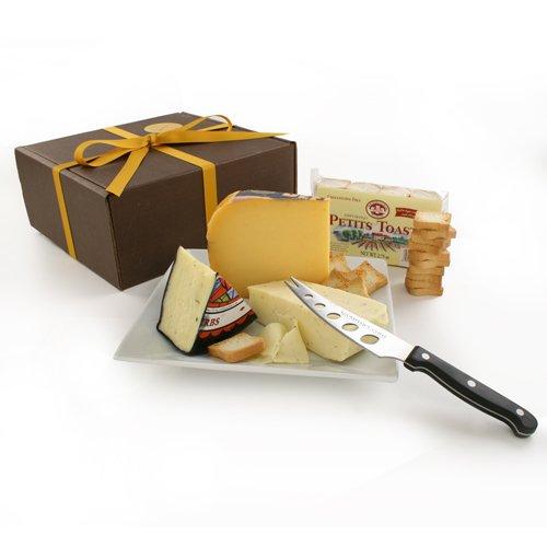 Garlic Cheese Assortment in Gift Box (1.7 pound) by igourmet