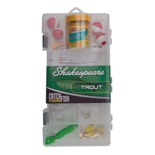 Shakespeare Catch More Fish Trout Tackle Box Kit primary