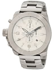 Vestal Men's RES004 Restrictor All Silver Chronograph Dive Watch
