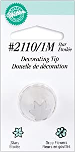 Wilton No.1M Decorating Tip, Star