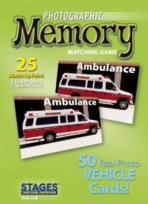 Photographic Memory: Vehicles - Buy Photographic Memory: Vehicles - Purchase Photographic Memory: Vehicles (Stages Learning Materials, Toys & Games,Categories,Games,Card Games,Flash Cards)