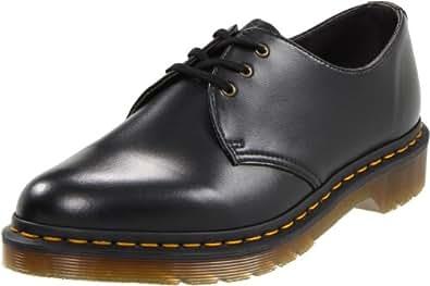 Dr. Martens 1461 Vegan 14046001, Chaussures de ville mixte adulte - Noir black, 36 EU