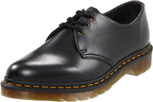 Dr. Martens Unisex-Adult Vegan 1461 Black Lace Up 14046001 10 UK