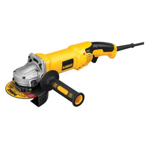 DEWALT D28115 Heavy-Duty 4-1/2-Inch/5-Inch High Performance Grinder with Trigger Grip