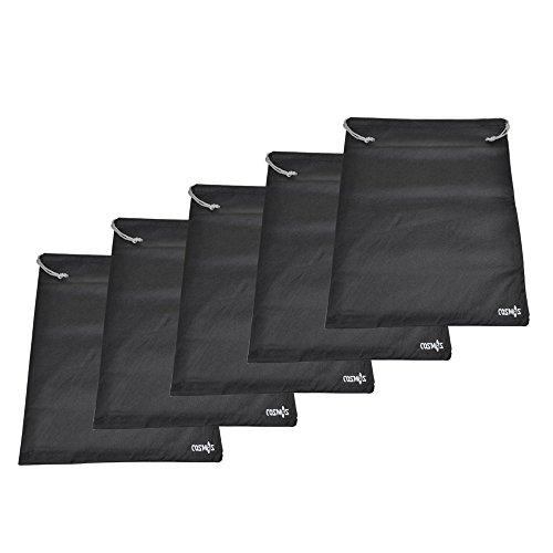 Cosmos - Set da viaggio di 5 sacche per scarpe in tessuto traspirante e antipolvere, 45 x 35 cm