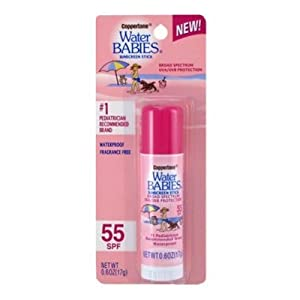 Coppertone WaterBABIES Stick SPF 55, 0.6 Ounce