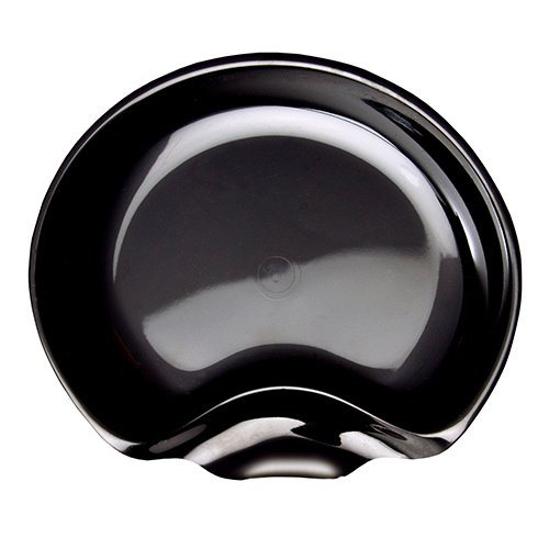 "WNA 24 Count Gala Specialty Cocktail Plate, 6"", Black"
