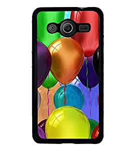 Colourful Balloons 2D Hard Polycarbonate Designer Back Case Cover for Samsung Galaxy Core 2 G355H :: Samsung Galaxy Core II :: Samsung Galaxy Core 2 Dual