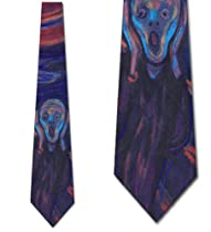 The Scream Ties Edvard Munch NeckTies