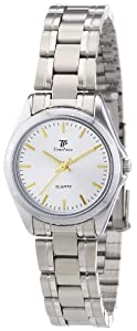 TP Time Piece Damen-Armbanduhr XS Sporty Analog Quarz Edelstahl TPLA-30170-41M