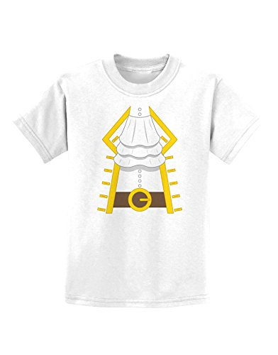 Pirate Captain Costume Gold Childrens T-Shirt