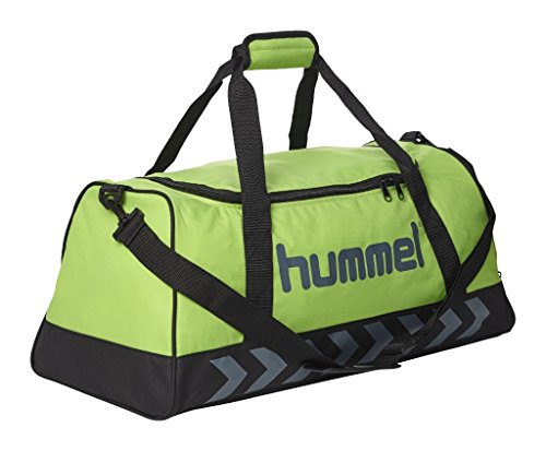 Hummel - adulti borsa Authentic Sports Bag, Tasche Authentic Sports Bag, Green Flash/Dark Slate