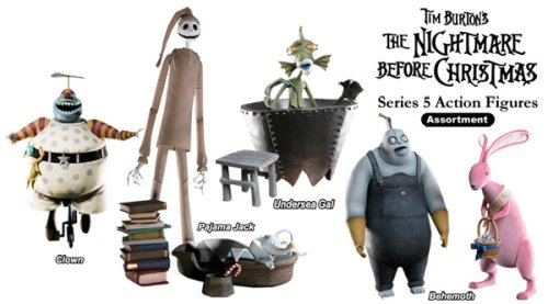 Tim Burton's The Nightmare Before Christmas - Series 5 Action Figures (Set of 4)