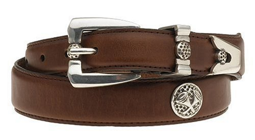 MagicBelt Classic, Size 30, Brown with Golf Tee Conchos