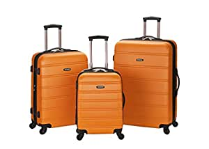 Rockland Luggage Melbourne 3 Piece  Set,